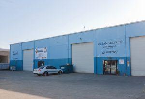 Ocean Services building